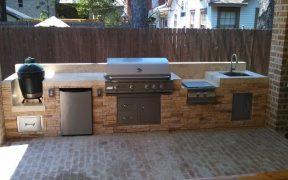 Fridge and Grill