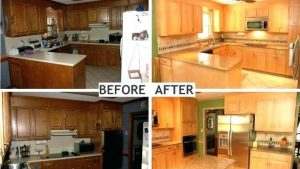 DIY Kitchen Cabinet Refurbish – Transforming Old to New