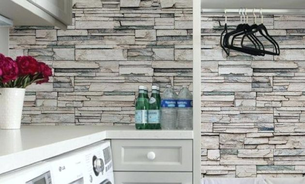 Best Kitchen Wallpaper That Looks Like Tiles