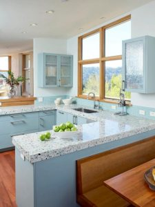 Blue Kitchen Design Ideas for a Calm