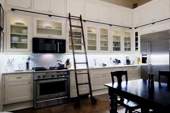 Ladder kitchen functionally