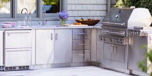 Choose The Best Material for Your Outdoor Kitchen Cabinet