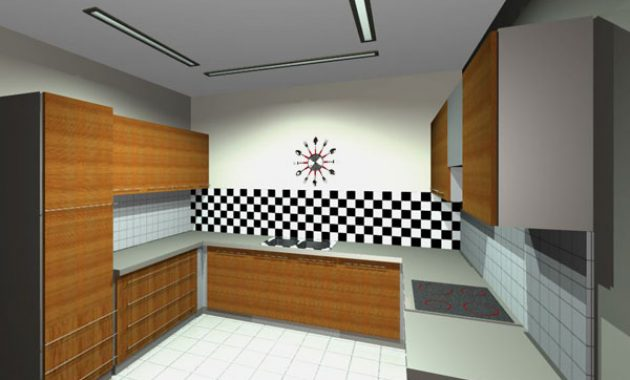 Checkered Pattern Ideas for The Kitchen You Need To Try This