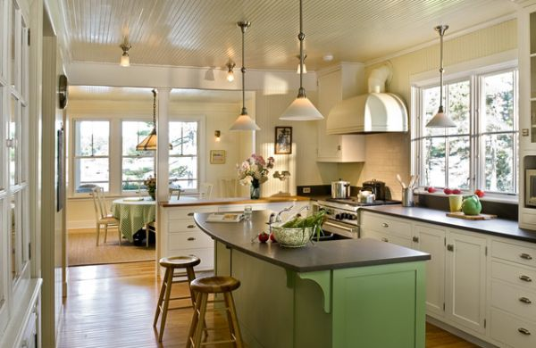 kitchen frosted pendant lights