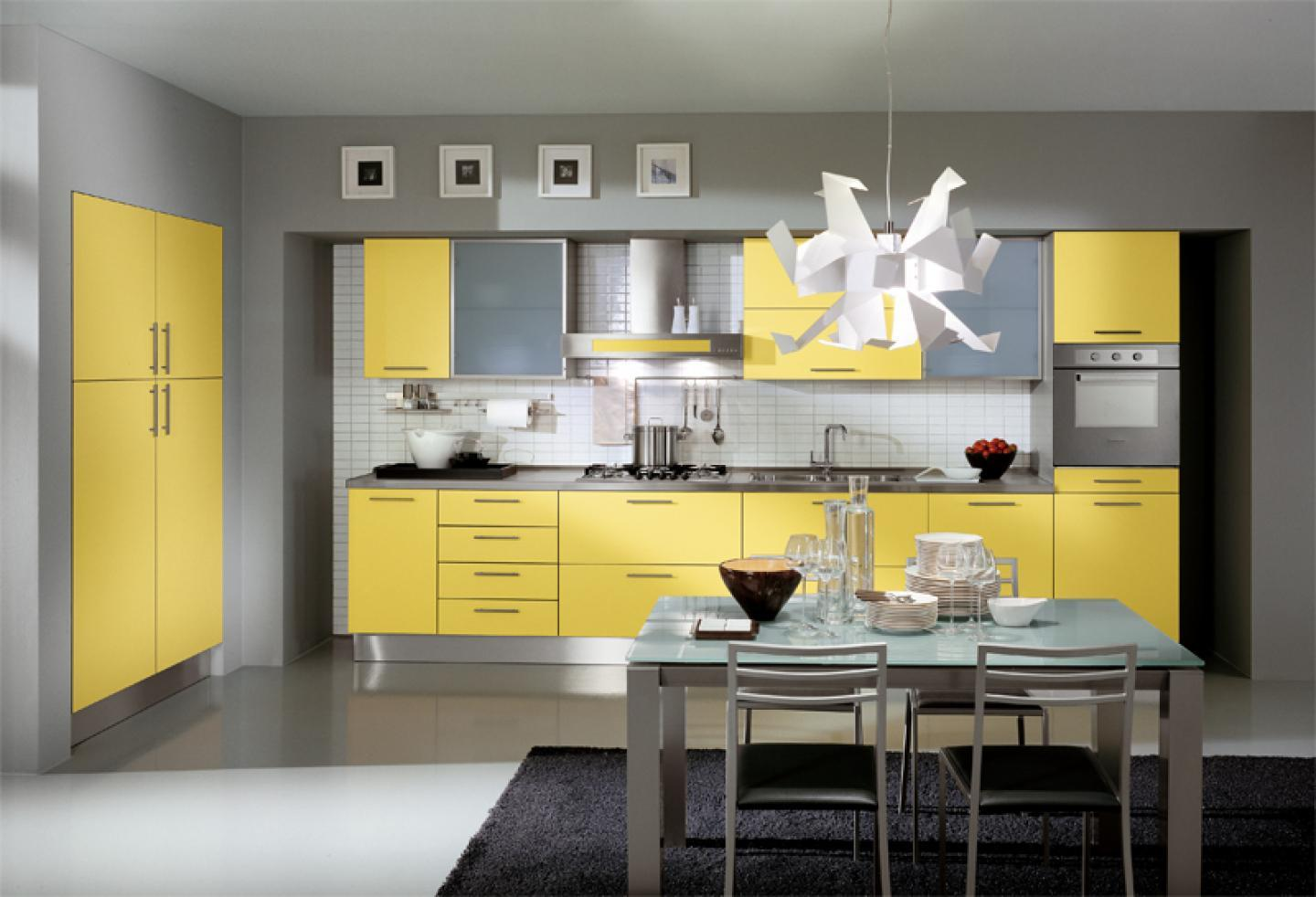 Yellow Kitchen Design Ideas To Brighten an Otherwise Conventional Kitchen