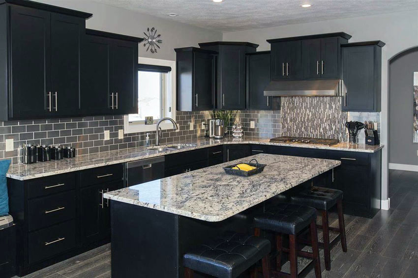 Black Cabinets for Kitchen ideas