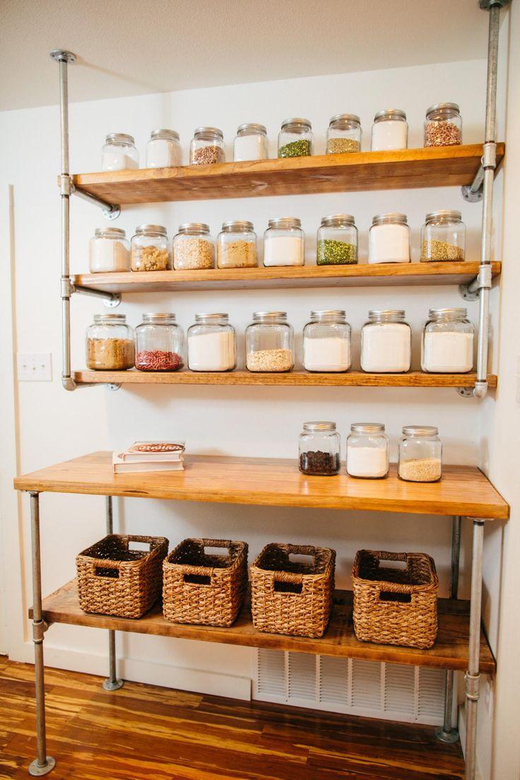 Hanging Shelves kitchen pantry