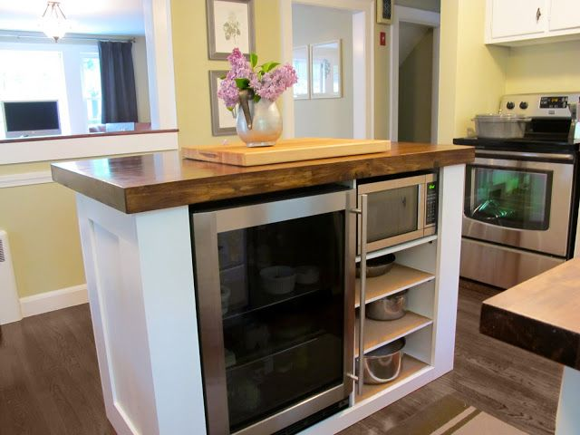 Mini Fridge For Kitchen Island