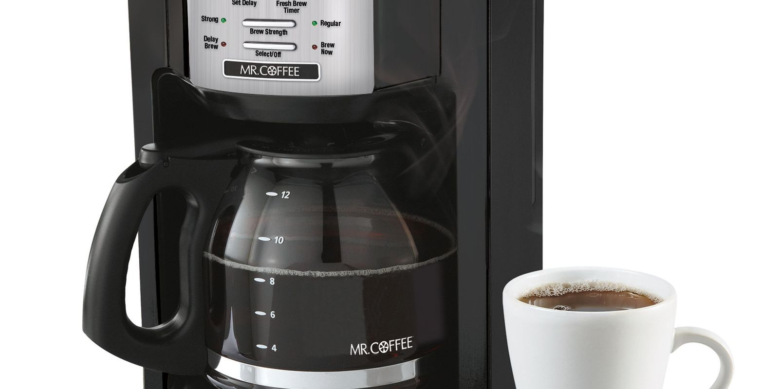 Mr. Coffee 12 Cup Programmable Coffee Maker benefits