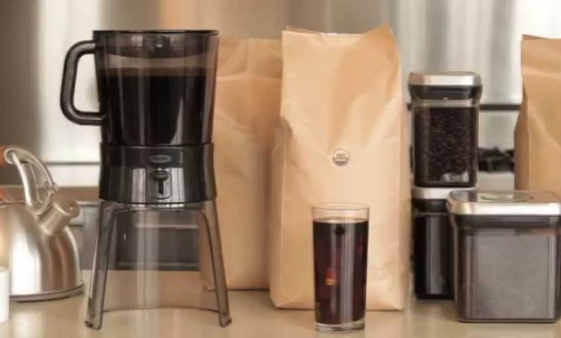 7 Features Of Oxo Good Grips Cold Brew Coffee Maker