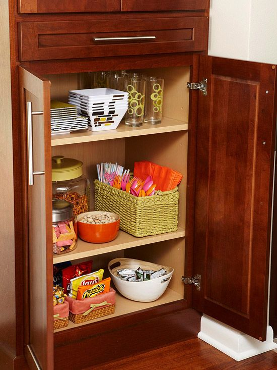 accessible pantry for kids