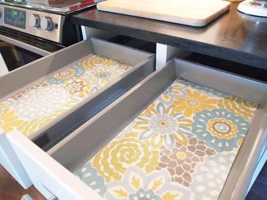 types kitchen Drawer Liners