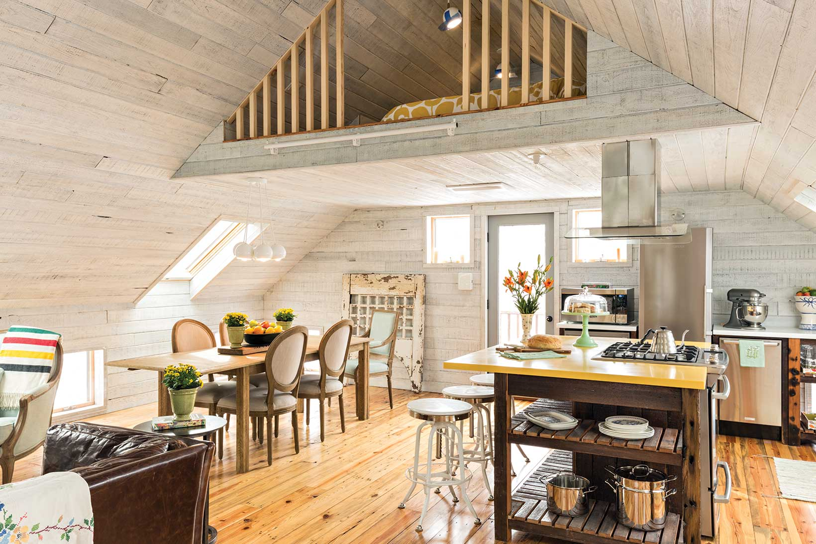 19th Century Converted Barn  Kitchen