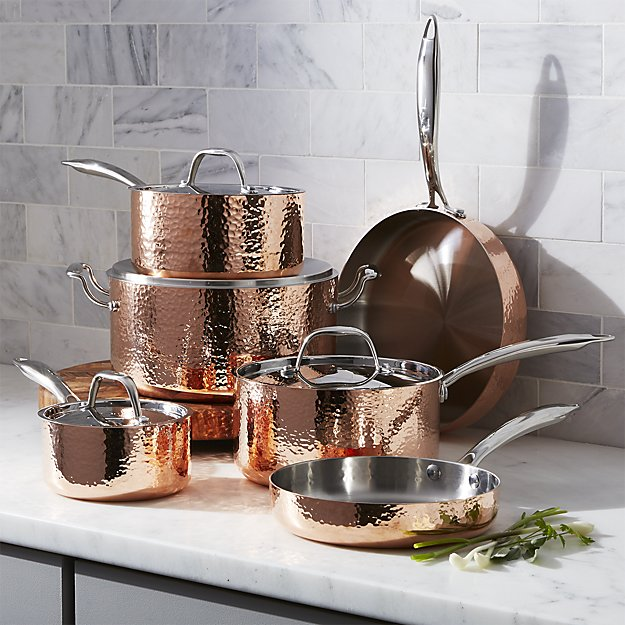 Copper Pots and Pans appearance