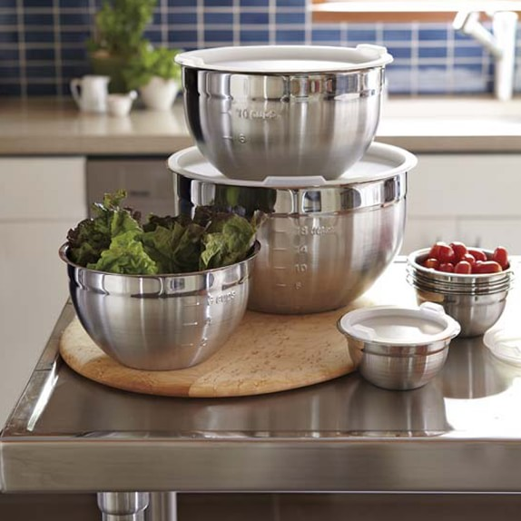 Mixing Bowls with Lids durablity