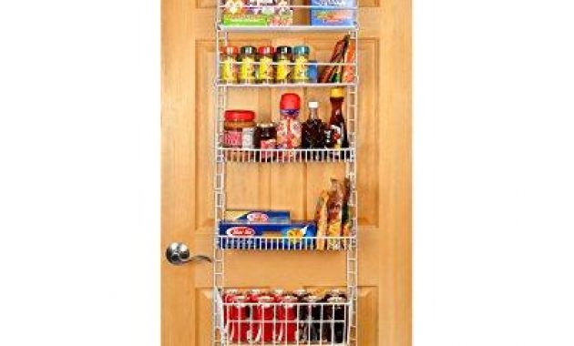3 Best Recommended Over The Door Pantry Organizer