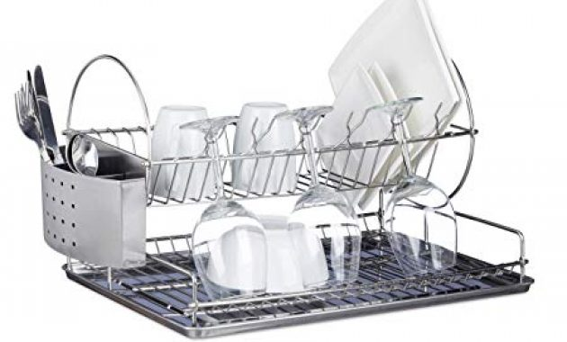 How To Clean Stainless Steel Dish Drainer