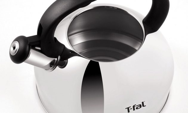 T-Fal C76220 Stainless Steel Tea Kettle 3 Quart