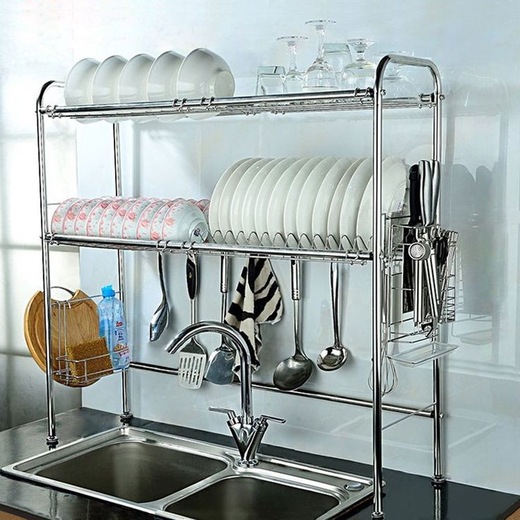 ways to clean Stainless Steel Dish Drainer