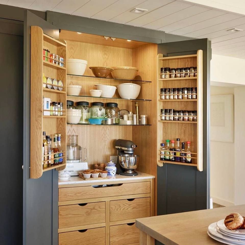 Kitchen Storage Space Management
