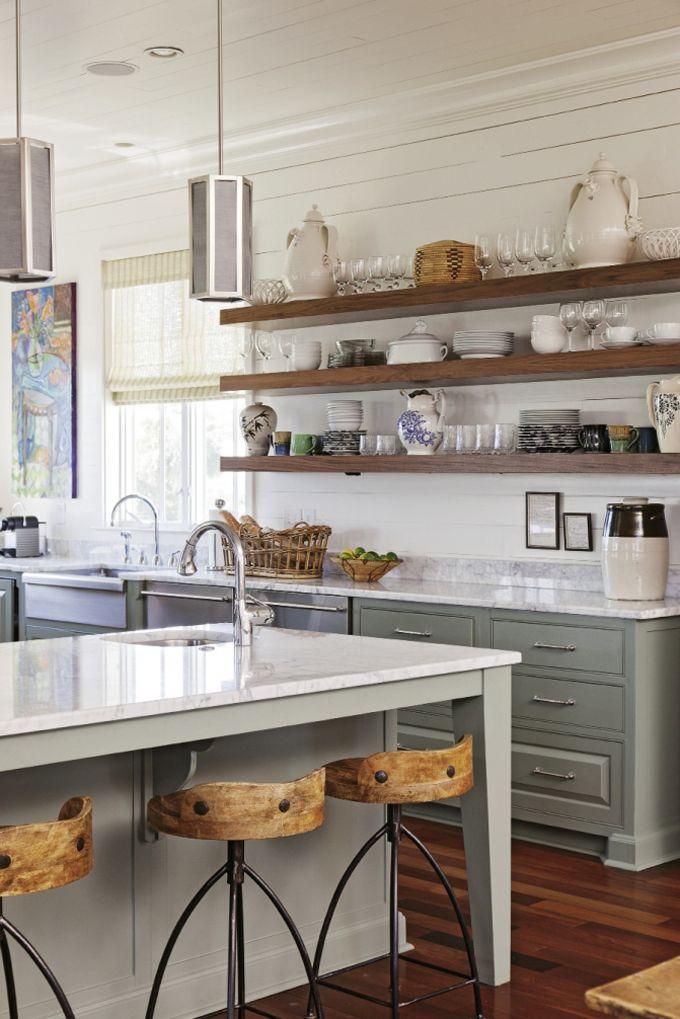 Open Shelves Design Kitchen