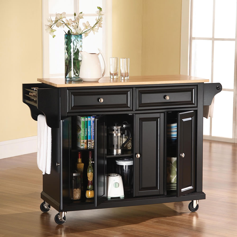 The Rolling Cart Kitchen Island