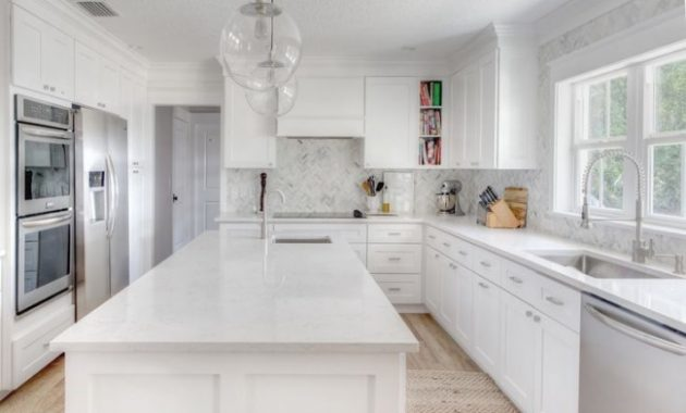 White Kitchen Ideas for Different Kinds of Elements