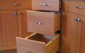lazy Susan corner cabinet uniquely