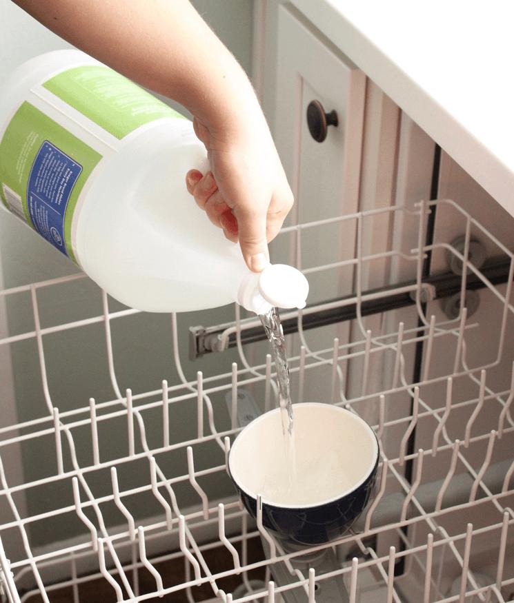 vinegar for Dishwasher
