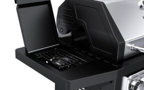 Dyna Glo Black and Stainless Premium