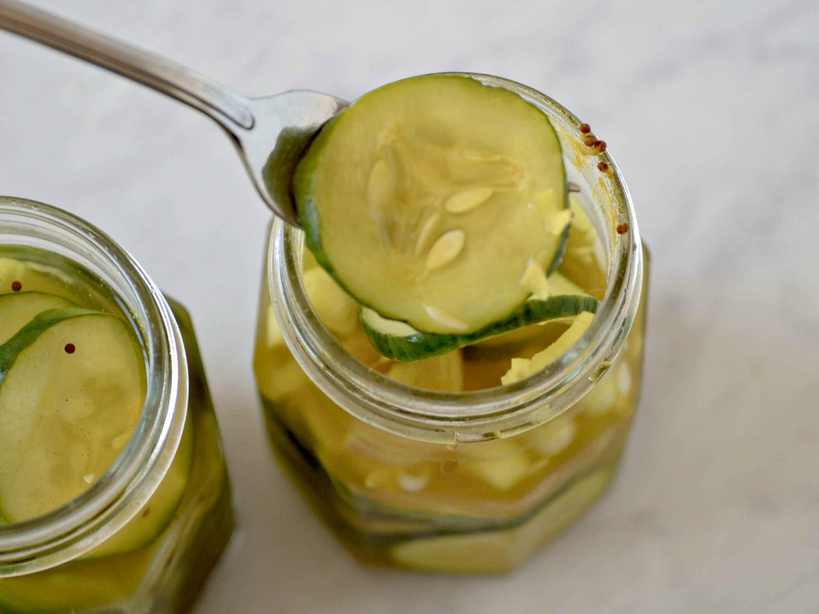 Refrigerator Bread and Butter Pickles Recipe