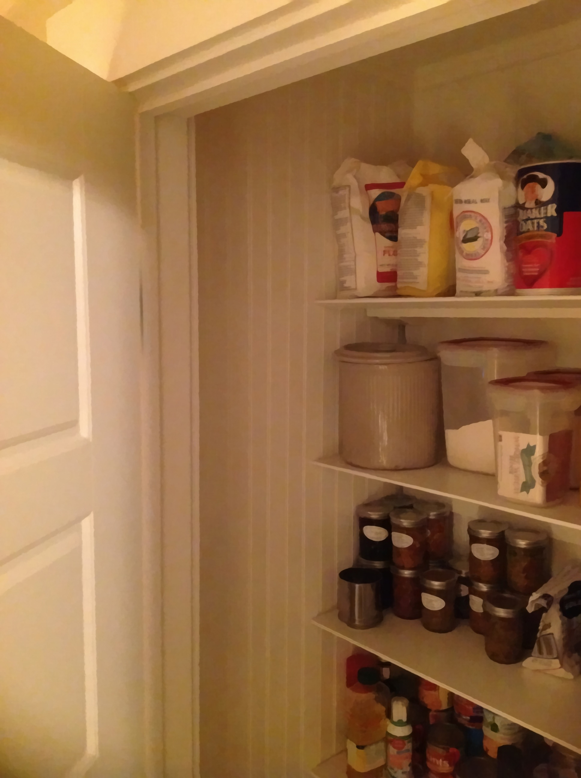 hidden board Pantry for apartment