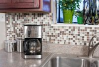 kitchen adhesive backsplash
