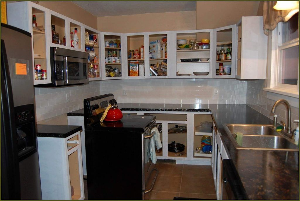 5 Reasons Why You Must Consider Kitchen Cabinet Without Doors