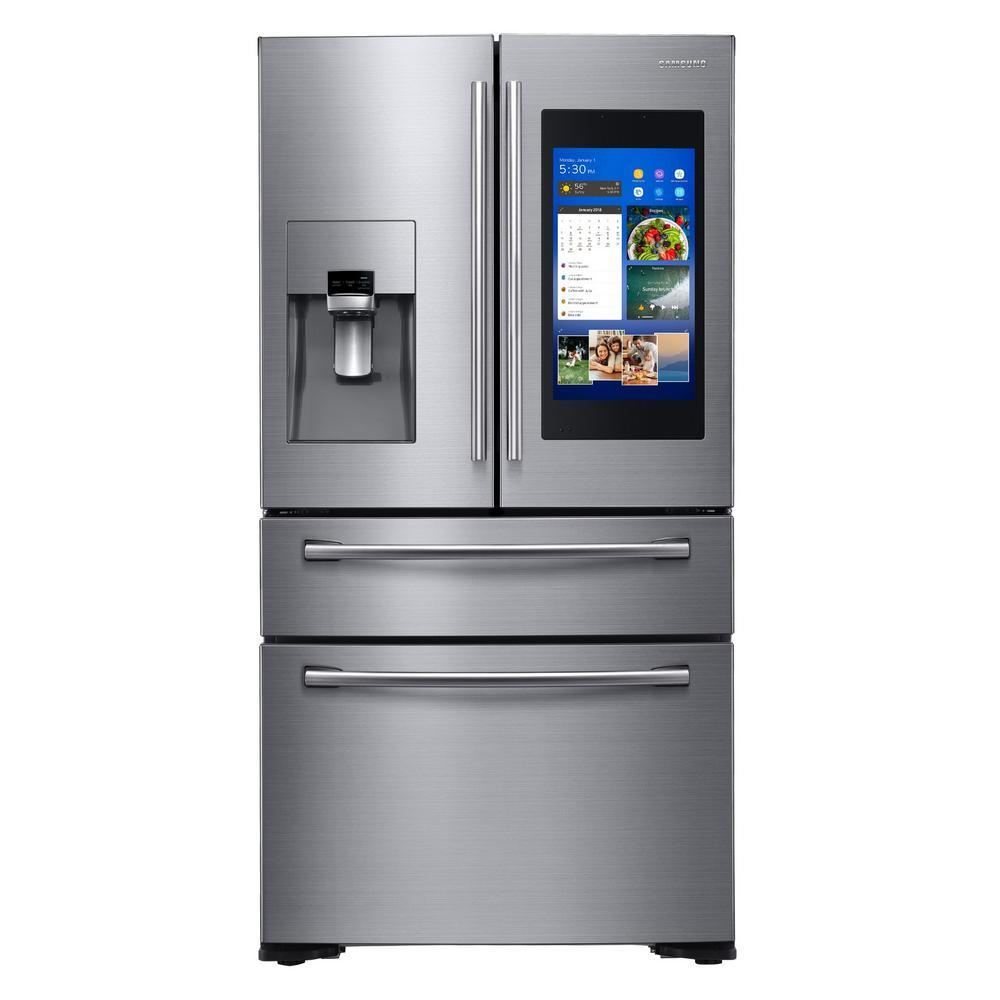 4-door smart refrigerator