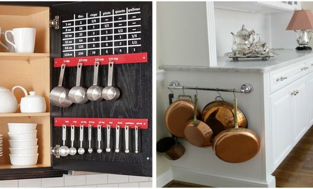 How To Organize a Small Kitchen Cabinet With 6 Steps