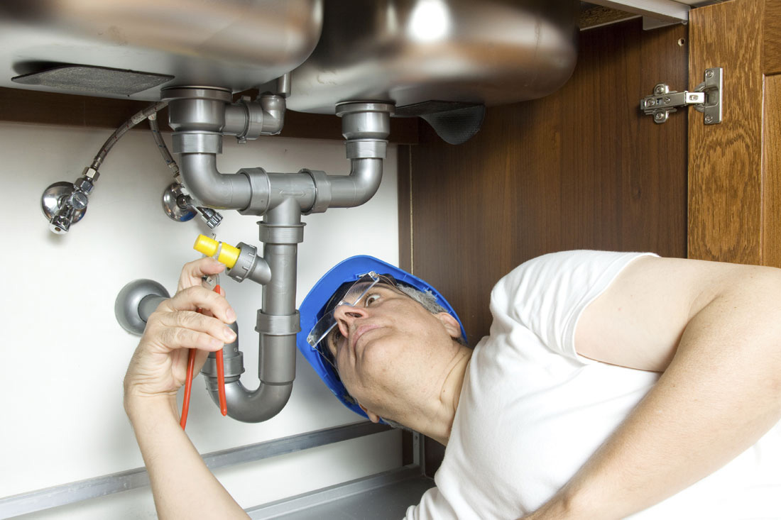 Install Plumbing for Kitchen