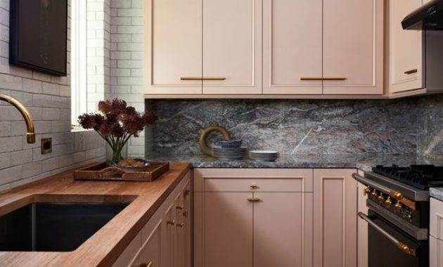 kitchen-cabinets-design-brown-wooden-floor-wooden-countertop-LED-ceiling- light-wooden-drawer-bonsai-electric-oven